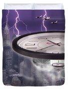 Time Travelers 2 Duvet Cover by Mike McGlothlen