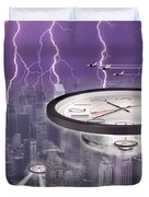 Time Travelers Duvet Cover by Mike McGlothlen