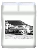 Tonopah Nevada - Clown Motel Duvet Cover
