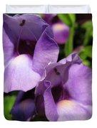 Torenia Named Purple Moon Duvet Cover
