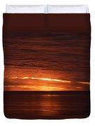 Torrey Pines Sunset Duvet Cover