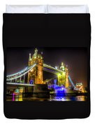 Tower Bridge Opening Duvet Cover
