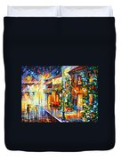 Town From The Dream Duvet Cover