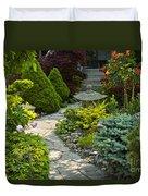 Tranquil Garden  Duvet Cover