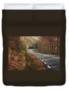 Transfagarasan Road Carpathian Mountains Romania  Duvet Cover