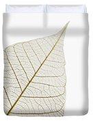 Transparent Leaf Duvet Cover