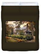 Tudor In Autumn Duvet Cover