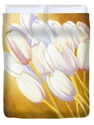 Tulips Are People Xii Duvet Cover