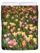 Tulips At Dallas Arboretum V92 Duvet Cover