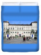 Turin Palazzo Reale Duvet Cover