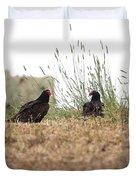 Turkey Vultures Duvet Cover