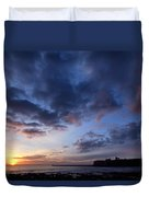 Tynemouth Sunrise Duvet Cover