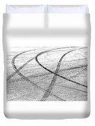 Tyre Tracks Duvet Cover