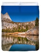 Upper Cathedral Lake Duvet Cover