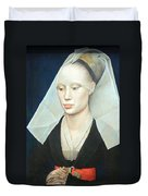 Van Der Weyden's Portrait Of A Lady Duvet Cover