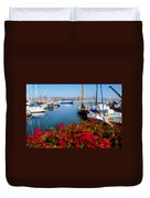 Ventura Harbor Duvet Cover