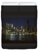 View From Gantry Plaza State Park Duvet Cover