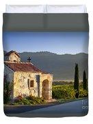 Vineyard Prayer Chapel Duvet Cover