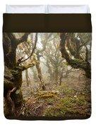 Virgin Mountain Rainforest Of Marlborough Nz Duvet Cover