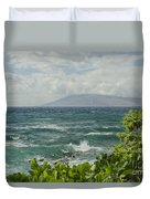 Wailea Point Maui Hawaii Duvet Cover