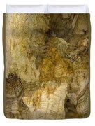 Longhorn Caverns Water Creation Duvet Cover