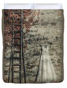 Wedding Dress Duvet Cover