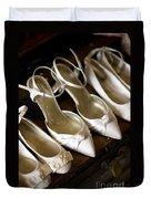 Wedding Shoes Duvet Cover