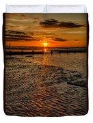 Welsh Sunset Duvet Cover