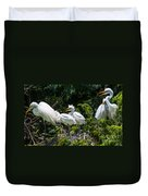 Whats For Lunch Duvet Cover