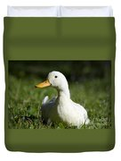White Duck Duvet Cover