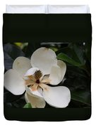 White Magnolia  Duvet Cover