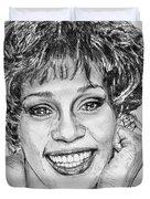 Whitney Houston In 1992 Duvet Cover