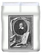 William Harvey (1578-1657) Duvet Cover