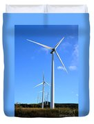 Wind Turbine Farm  Duvet Cover