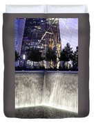 World Trade Center Museum Duvet Cover