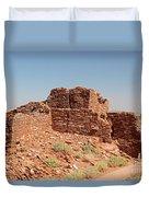 Wupatki Pueblo In Wupatki National Monument Duvet Cover