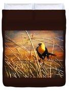 Yellow - Headed Blackbird Duvet Cover