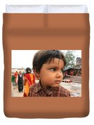 Young Boy Orchha  Duvet Cover