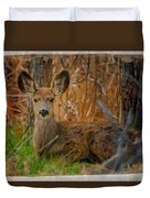 Young Mulie Duvet Cover