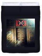 20 Exchange Place Art Deco Duvet Cover