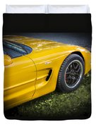 2002 Chevrolet Corvette Z06 Duvet Cover