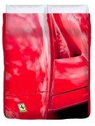 2003 Ferrari Enzo Hood Emblem Duvet Cover