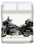 2003 Harley Davidson Duvet Cover