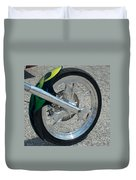 2004 Hell Bound Steel Motorcycle Duvet Cover