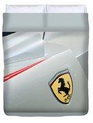 2005 Ferrari Fxx Evoluzione Emblem Duvet Cover