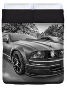 2005 Ford Mustang Convertible Bw  Duvet Cover
