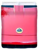 2006 Lotus Grille Emblem -0012c Duvet Cover