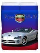 2006 Viper S R 10 Duvet Cover by Jack Pumphrey