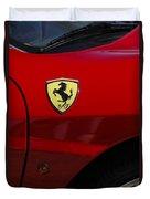 2007 Ferrari F430 Spider F1 Duvet Cover