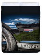 2007 Ford Mustang Shelby Gt500 Painted   Duvet Cover